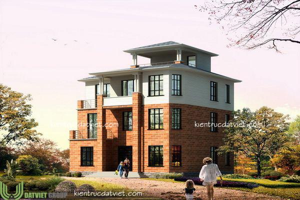 thiết kế biệt thự vườn 3,5 tầng hiện đại, đẹp, thiết kế biệt thự vườn chuyên nghiệp